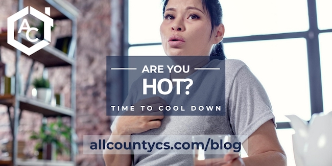 Are you hot? Time to cool down.