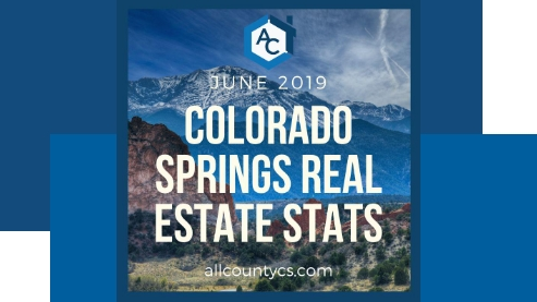 June 2019 Colorado Springs Real Estate Statistics