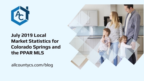 July 2019 Local Market Real Estate Statistics