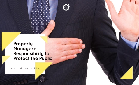 Property Manager's Responsibility to Protect the Public