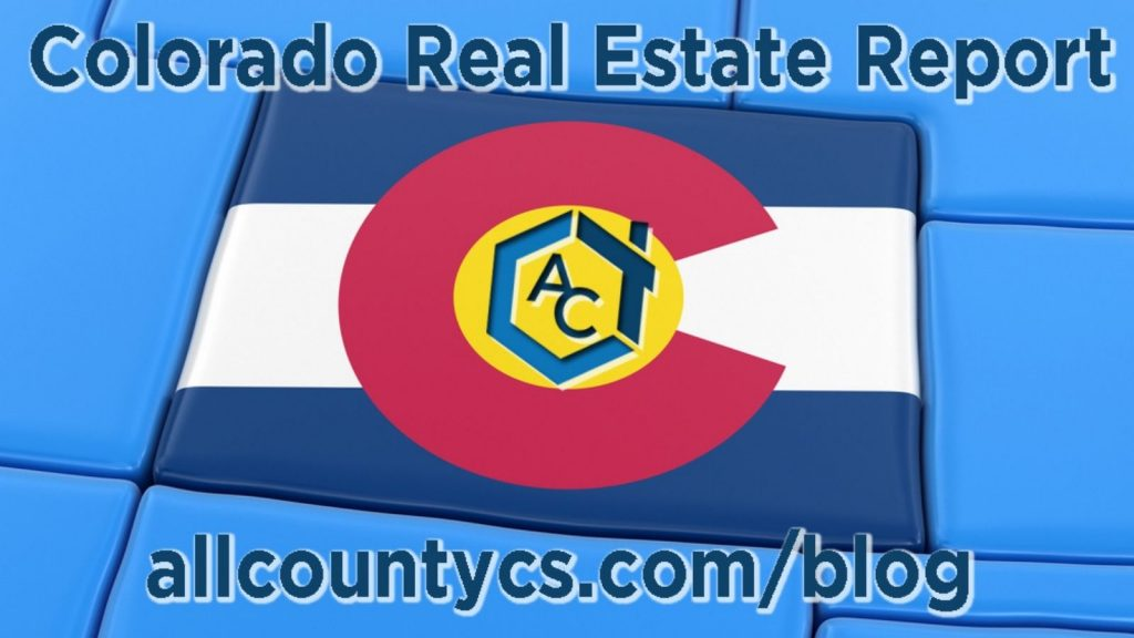 Colorado Springs real estate report from All County® Colorado Springs