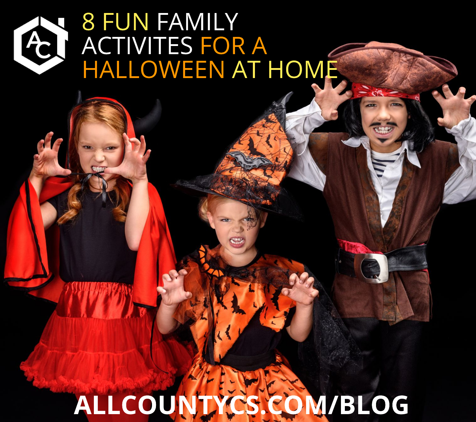 8 fun family activities for a Halloween at home